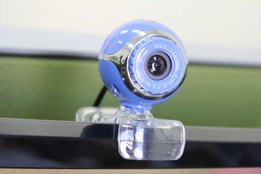Afbeelding van een webcam. Een webcam is nodig voor een webcammodel om te kunnen werken.